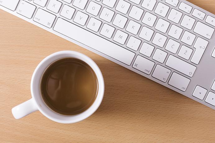 キーボードコーヒー